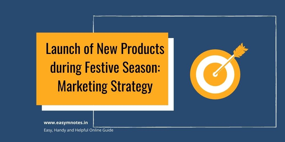 Launch of New Products during Festive Season Marketing Strategy