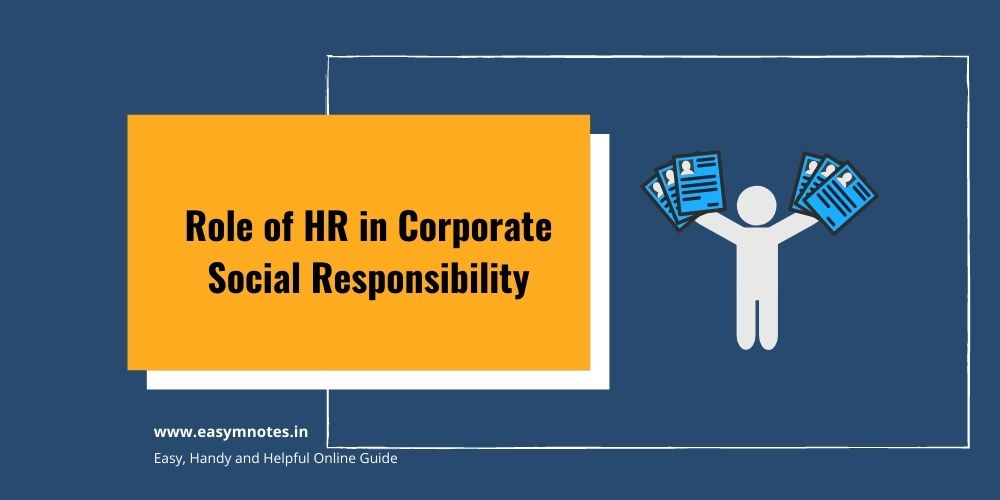 Role of HR in Corporate Social Responsibility