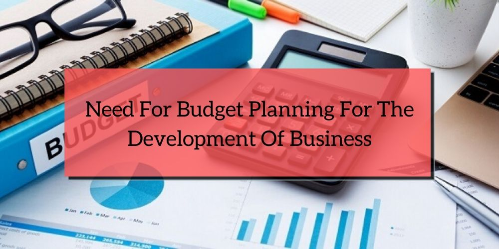 Need For Budget Planning For The Development Of Business