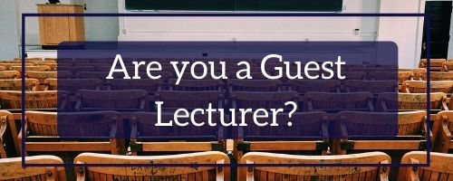 Are you a guest Lecturer?
