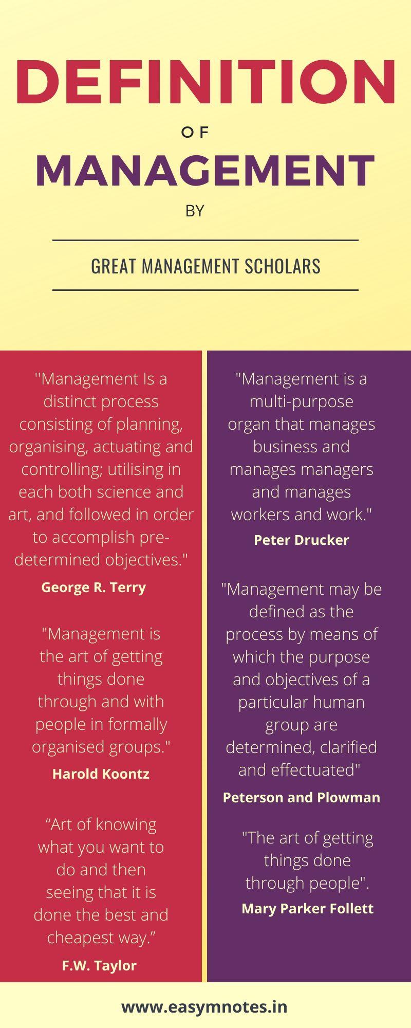 Management Defination