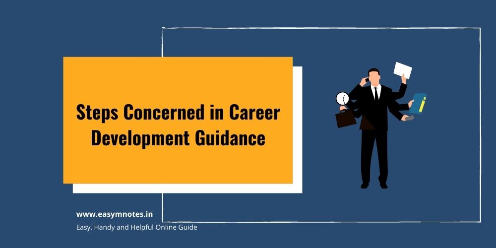 Steps Concern in Career Development Guidance