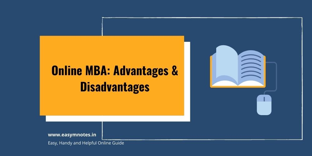 Online MBA Advantages & Disadvantages