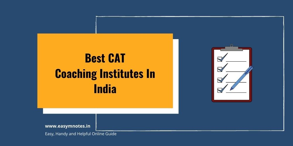 Best CAT Coaching Institutes In India