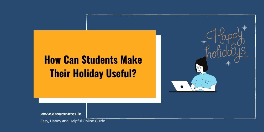 How Can Students Make Their Holiday Useful