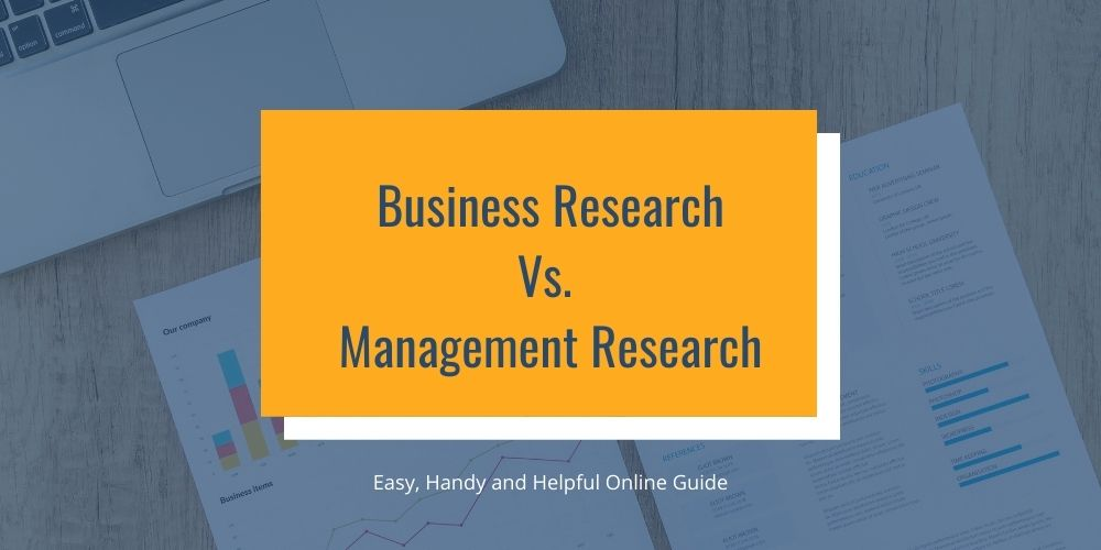 Business Research vs Management Research