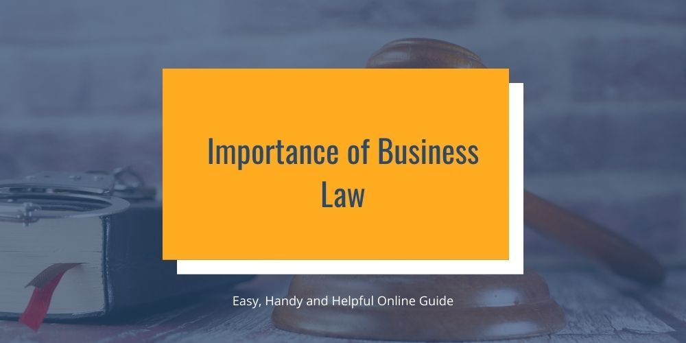 Importance of Business Law