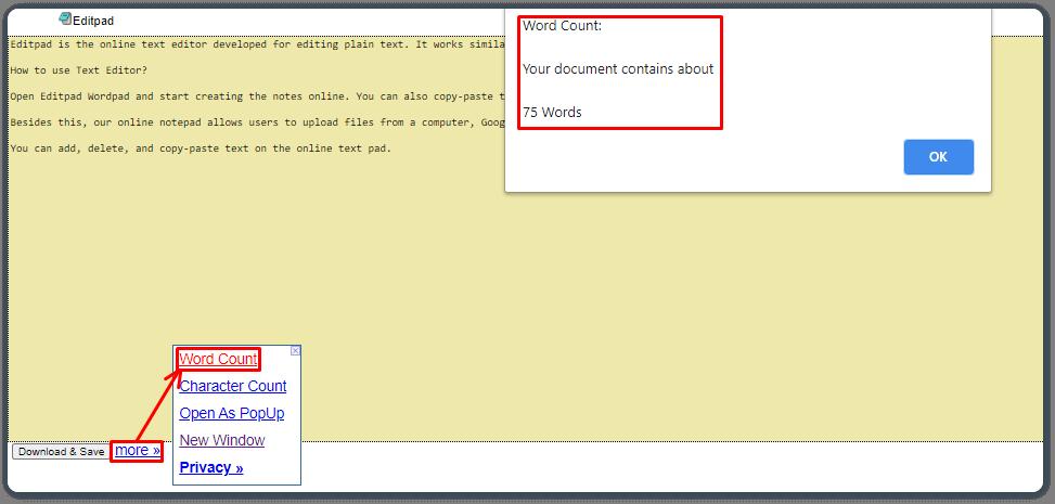 EditPad Notepad Tool